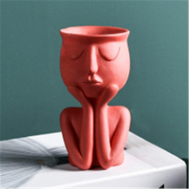 Sculpture Flower Pot