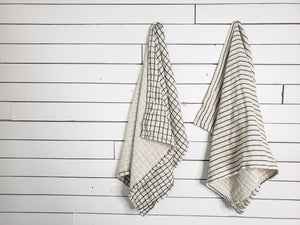 Cotton Tea Towel. Home decor and styling services by At The Farmhouse.
