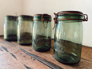 Short Wide Mouth French Canning Jar