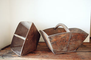 Vintage Rice Baskets. Home styling and decor by At the Farmhouse..
