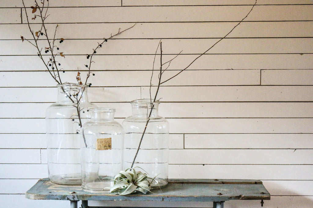 Vintage Pickling Jars | At the Farmhouse