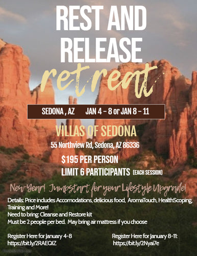 Sedona Retreat Jan 8th - Jan 11th