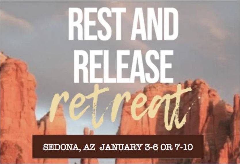 SEDONA Rest & Release Retreat  Jan. 3-6, 2020