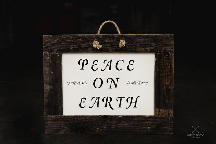 Peace on Earth - Framed