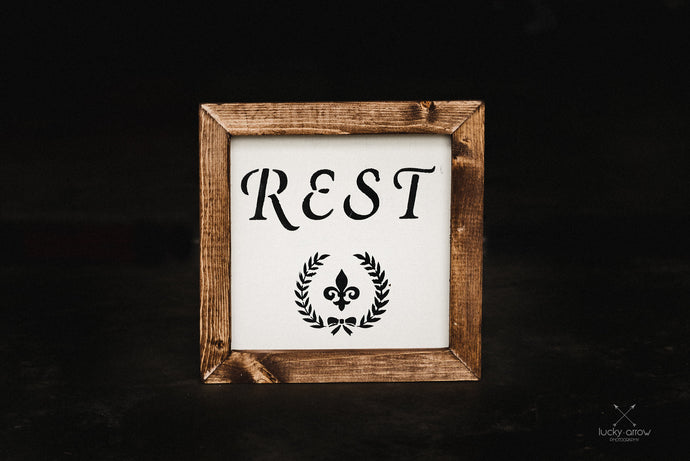 Rest - Framed