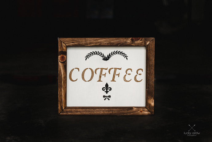 Coffee - Framed