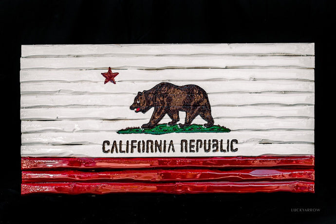 California Livin State Flag