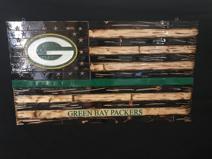 Custom Green Bay Packers Flag