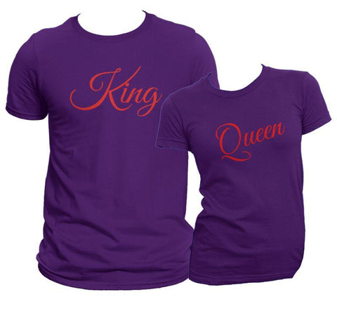 The Loyal Family King & Queen Shirt Set COPY - Matching Shirts for Couples and Families