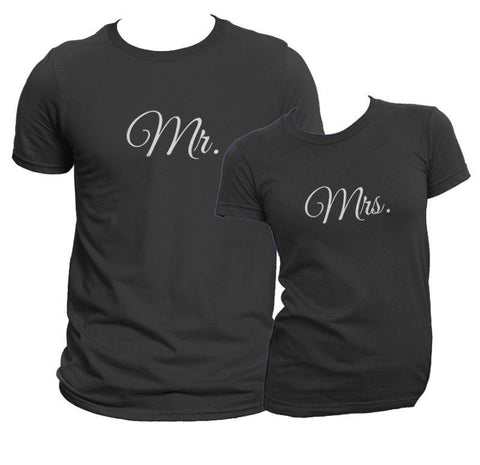 Mr. And Mrs. Shirt Set COPY - Matching Shirts for Couples and Families