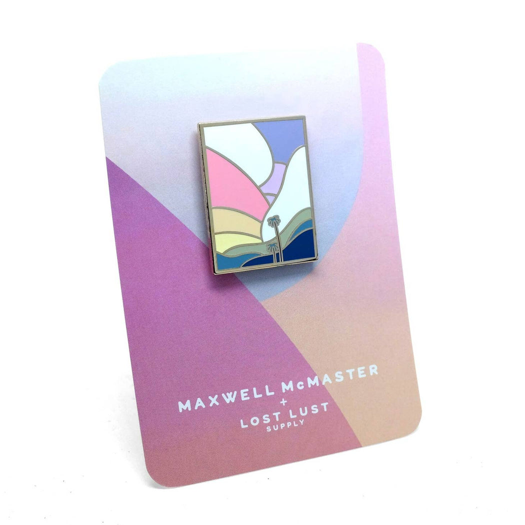 Palm Dreams Pin, Maxwell McMaster