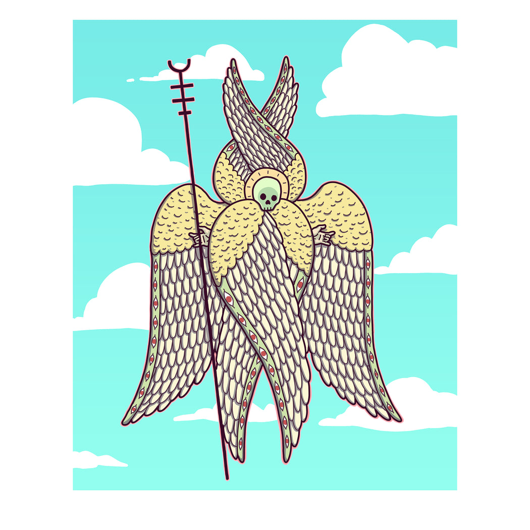 Tyler Winters Skaggs, Angel no.1 (Holy! Holy! Holy!), Glicee, Art Print