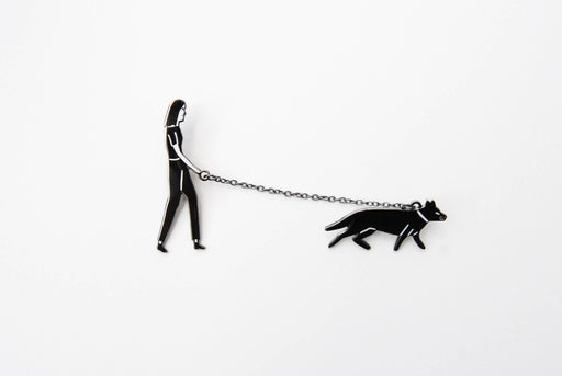 Walking the Dog Pin, Kaye Blegvad