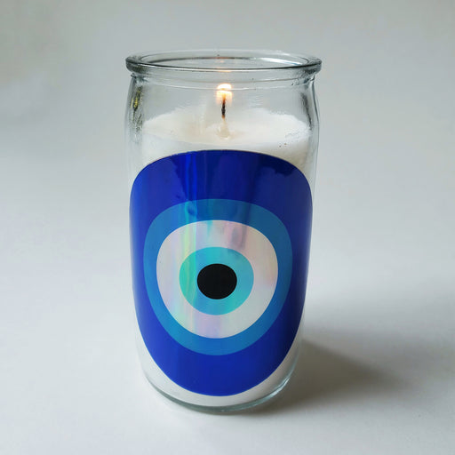 Evil Eye Holo Candles, Killer Queen Designs