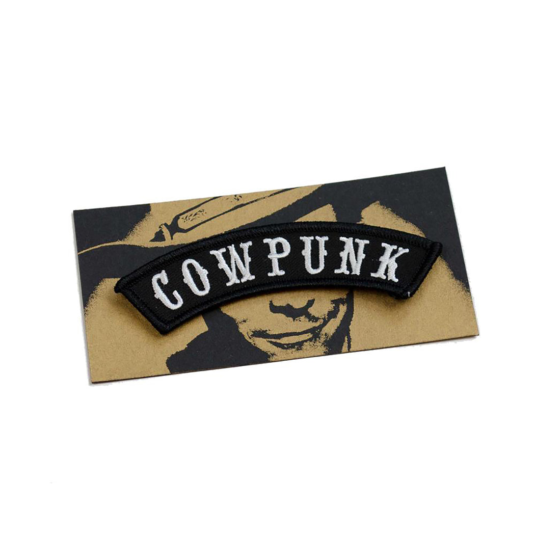 Cowpunk Rocker Patch, Cattywampus Press