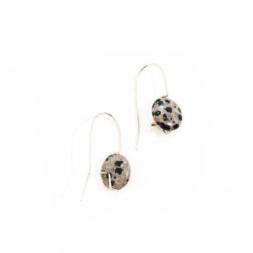 Dalmation Jasper Earrings, Holly Bobisuthi
