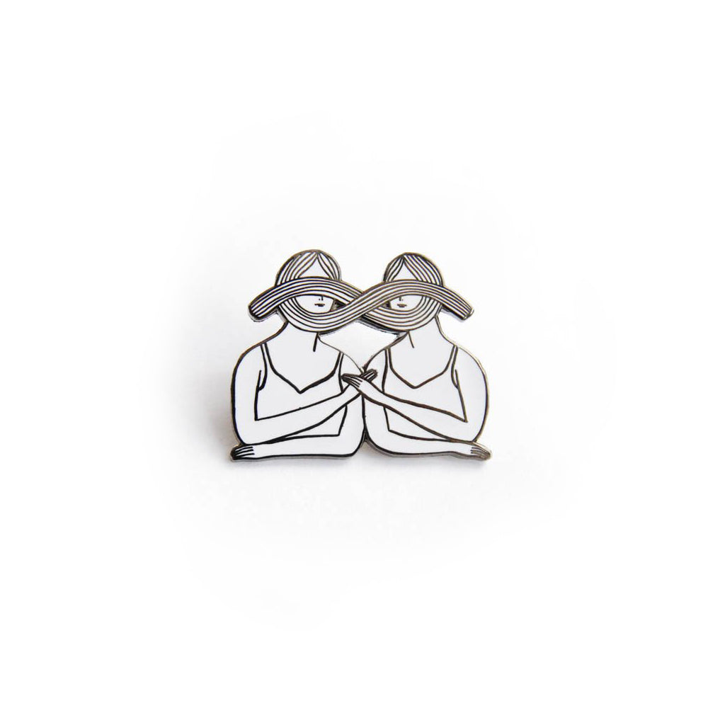 Eternal Sisterhood Pin, Kaye Blegvad