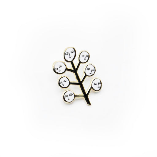 Face Tree Pin, Kaye Blegvad