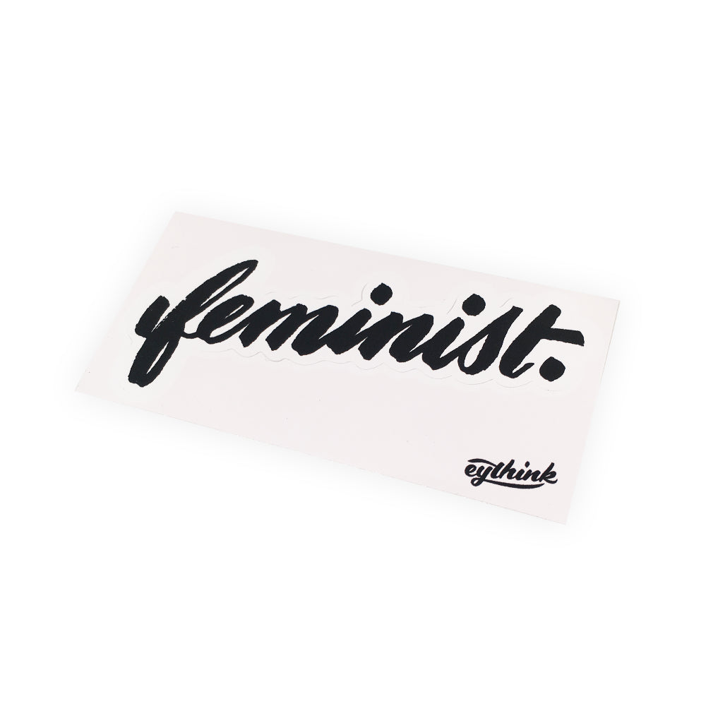 Eythink Feminist Sticker / Patch