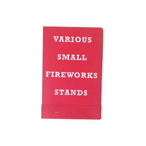 Various Small Fireworks Stands, Cattywampus Press