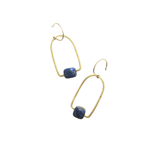 Lapis Earrings, Holly Bobisuthi