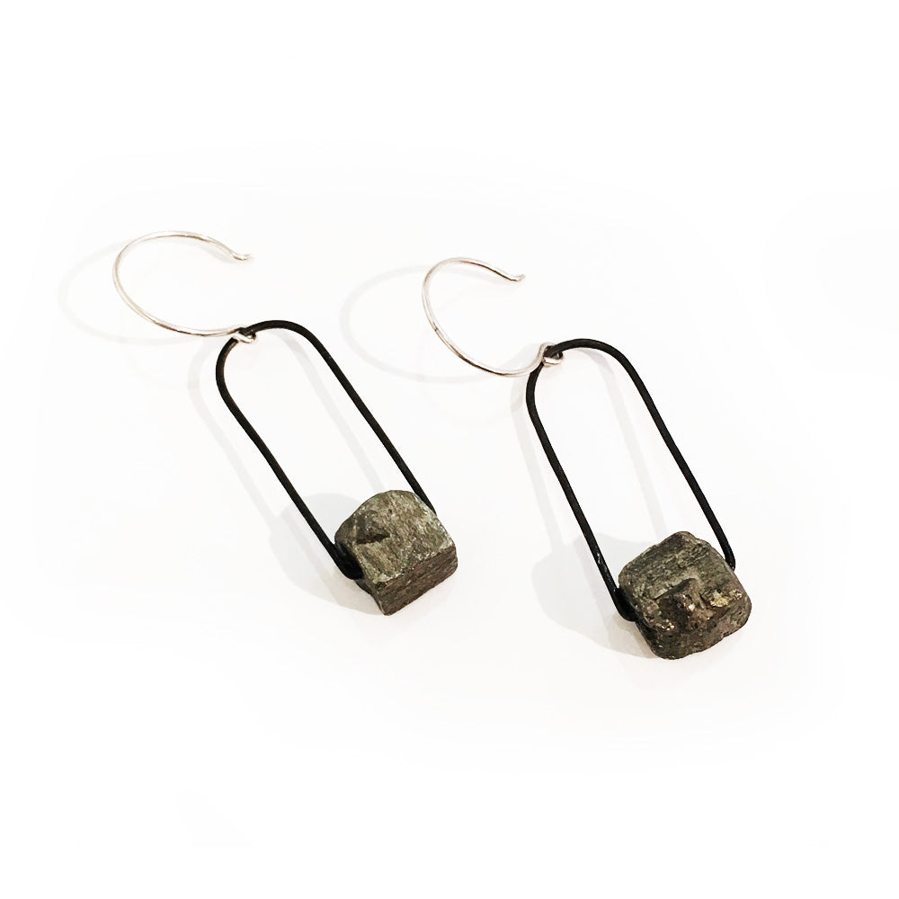 Holly Bobisuthi Stone Earrings