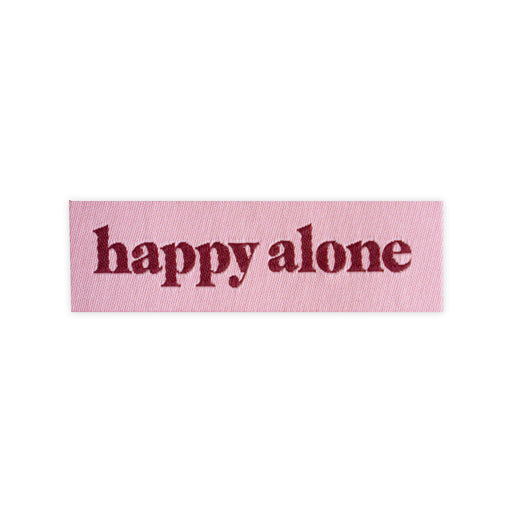 Happy Alone Patch, Stay Home Club