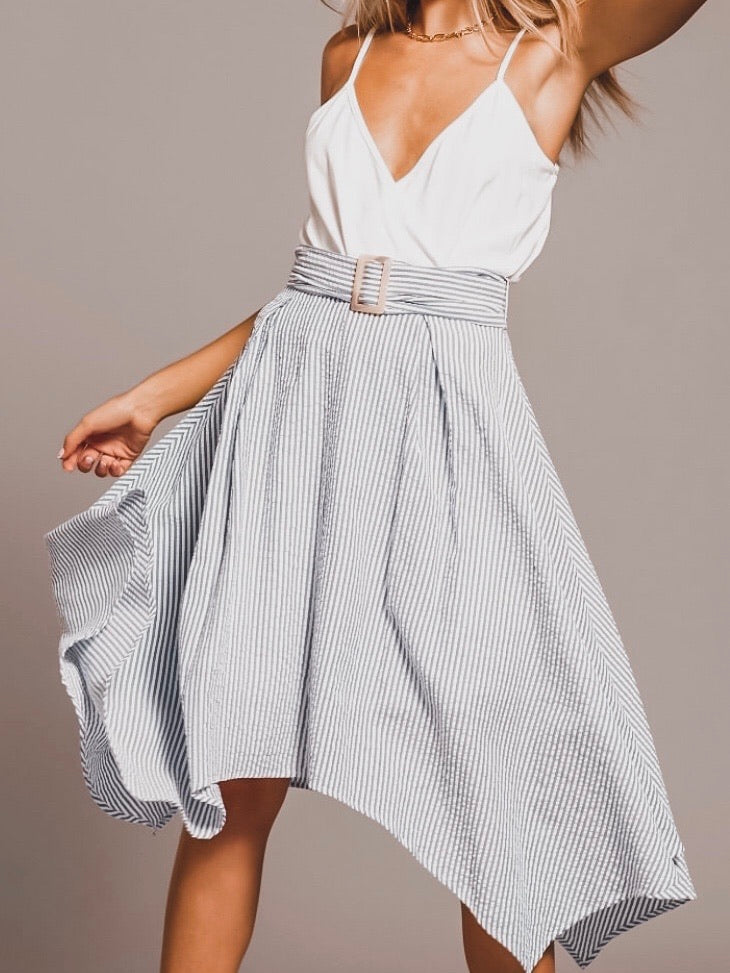Bishop + Young Sara Hanky Hem Skirt