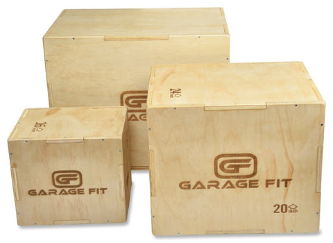Wood Plyo Box - Steel Plyo Box - Foam Plyo Box - Composite Plyo Box
