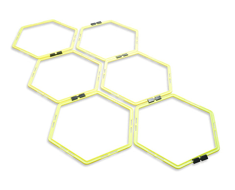 Hexagonal Agility Rings - garagefit