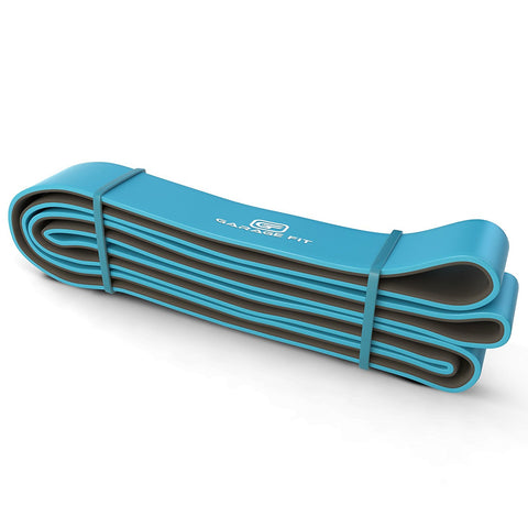 Pull Up Bands-Blue & Gray - garagefit