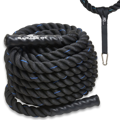 Battle Ropes - Black - garagefit
