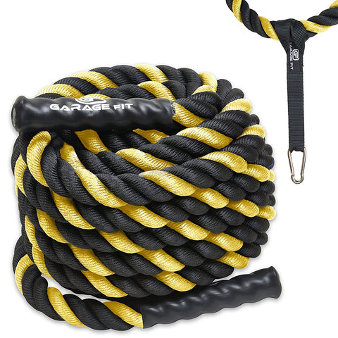 Battle Ropes - Yellow - garagefit