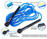 Adjustable PVC Jump Rope - garagefit