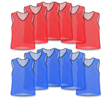 Nylon Mesh Vests Color Combo - 12 Pack - garagefit