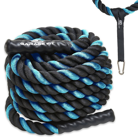 Battle Ropes - Blue - garagefit