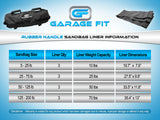 Garage Fit Rubber Handle Training Sandbags Liner Information