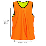 Nylon Mesh Reversible Vests