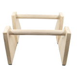 Wood Parallettes - garagefit