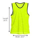 Nylon Mesh Vests - 12 pack - garagefit