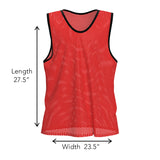 Nylon Mesh Vests Color Combo