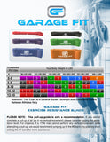 Pull Up Band: S,M,L & XL - garagefit