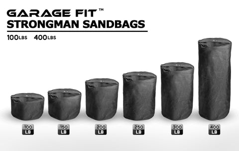Garage Fit Strongman Sandbags