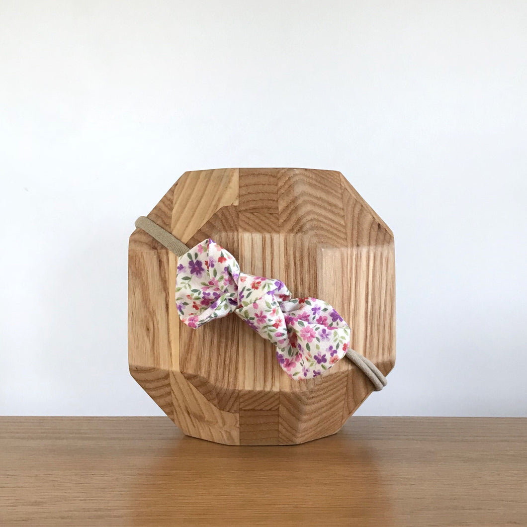 Vida & Co Fabric Bow Headband - Into the Garden