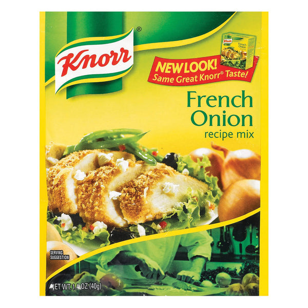 Knorr Recipe Mixes - French Onion - Case of 12 - 1.4 oz