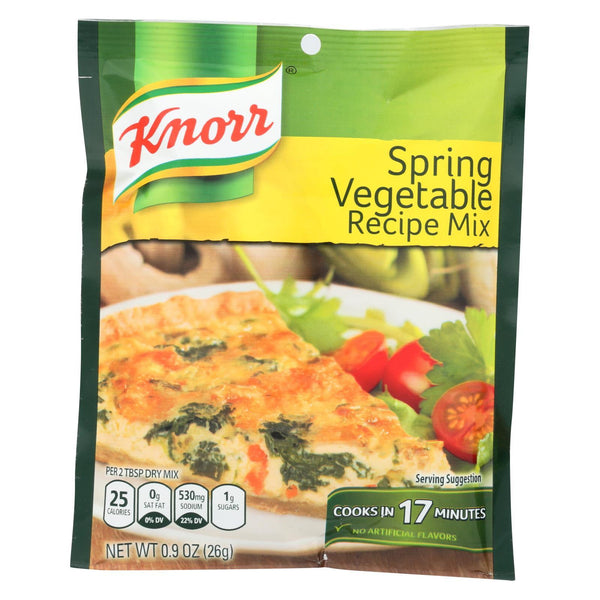Knorr Recipe Mixes - Spring Vegetable - Case of 12 - 0.9 oz