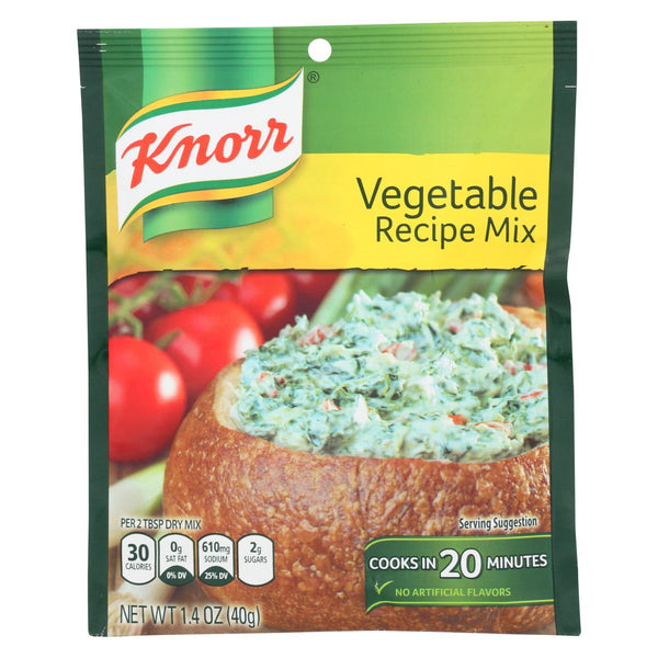 Knorr Recipe Mixes - Vegetable - Case of 12 - 1.4 oz