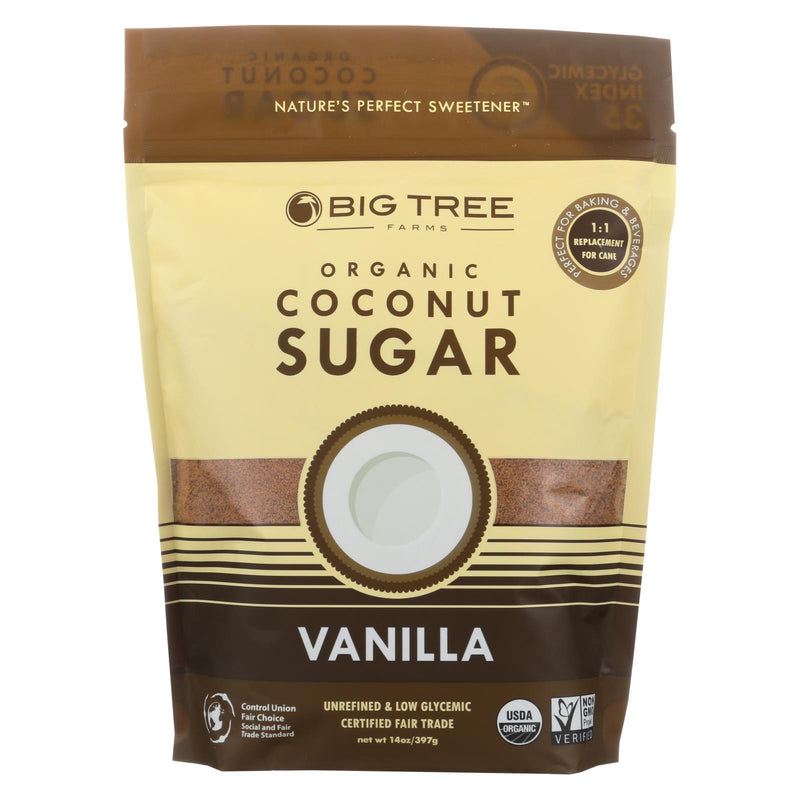 Big Tree Farms Coconut Palm Sugar - Vanillailla - Case of 6 - 14 oz