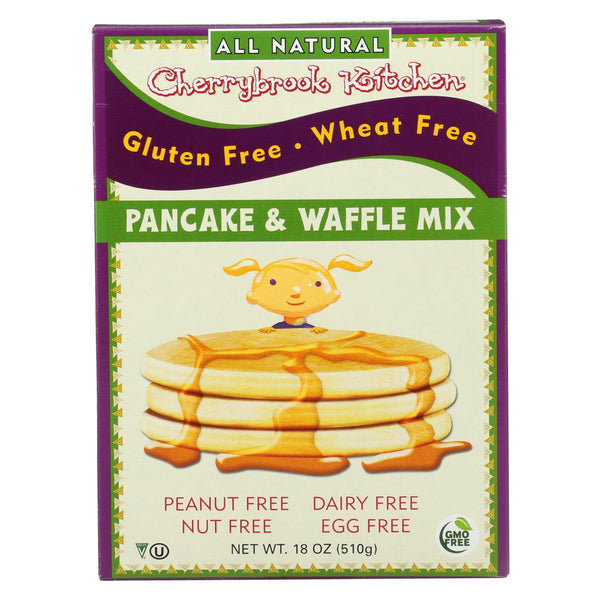 Cherrybrook Kitchen Pancake and Waffle Mix - Case of 6 - 18 oz