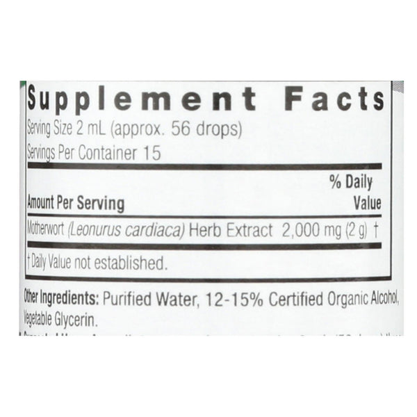 Nature's Answer Motherwort Herb - 1 fl oz